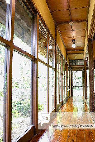 Japanese traditional house interior