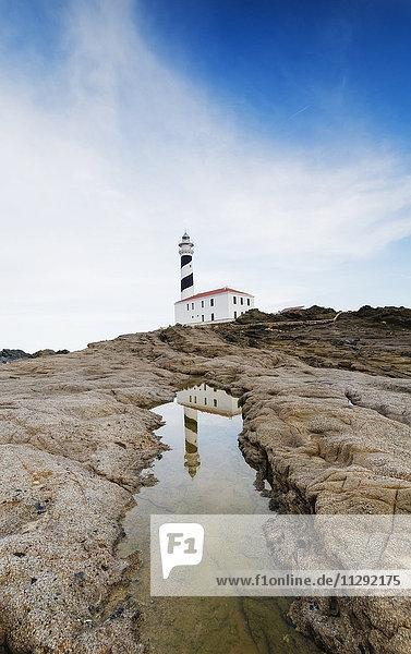 Spanien  Menorca  Favaritx Leuchtturm Spanien, Menorca, Favaritx Leuchtturm
