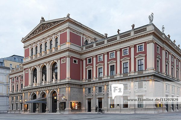 Musikverein Wien  Gesellschaft der Musikfreunde  Konzerthaus  1. Bezirk  Wien  Österreich  Europa