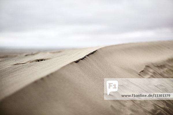 Wolken über der Sandbank