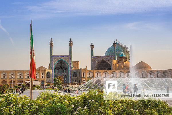 Iran  Esfahan City  Naqsh-e Jahan Square  Masjed-e Shah Mosque