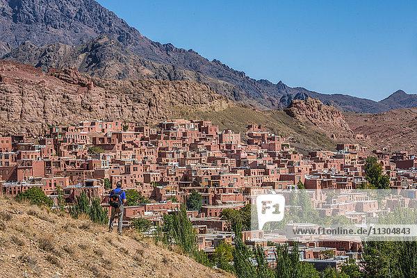 Iran  Abyaneh Village
