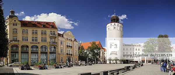 Germany  Saxony  Goerlitz  Marienplatz