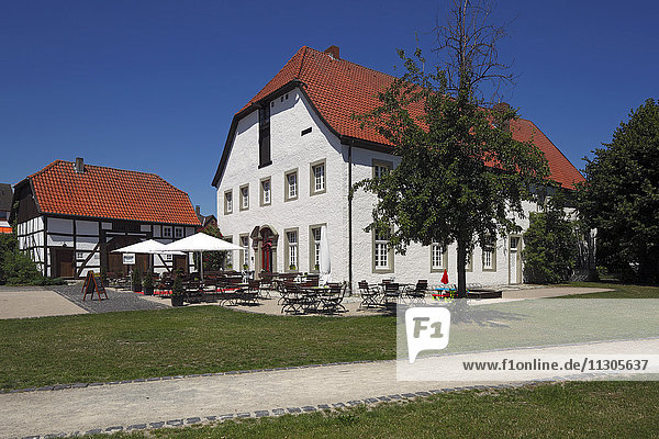 Greven court house  Thoholte in Geseke  North Rhine-Westphalia