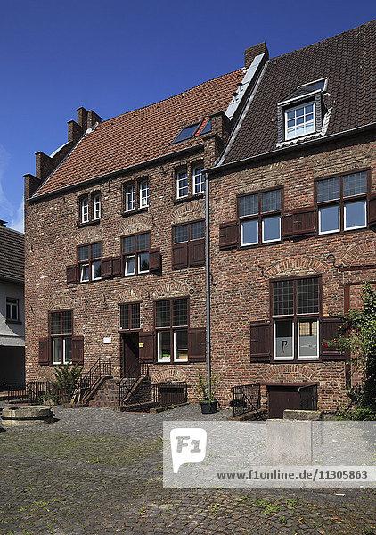 Houses  Homes  Haagstrasse 61 and 63 in Moers  Lower Rhine  North Rhine-Westphalia
