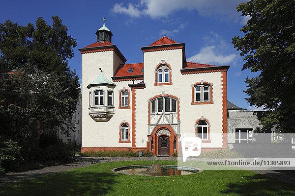 Willy Brandt-Park in Recklinghausen  Ruhr area  North Rhine-Westphalia