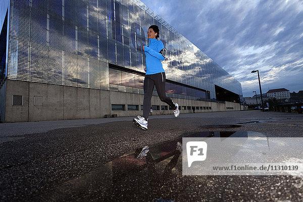 Woman  jogging  running  industry  sport  urban