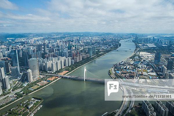 China  Guangdong Province  Guangzhou City  Pearl River  East Guangzhou