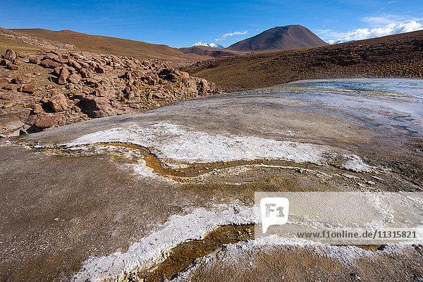 Chile  Atacama  geyser