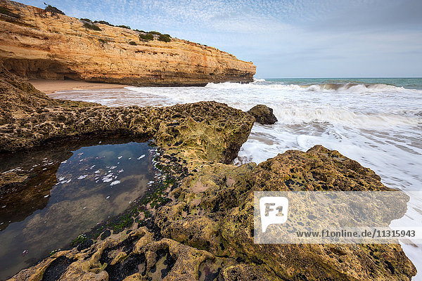 Praia da Albandeira  Portugal  Algarve