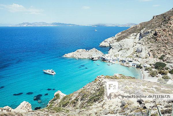 Griechenland  Milos  Firopotamos Strand