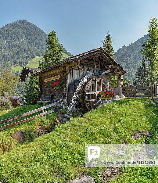 Döllach  Austria  Waterwheel mill