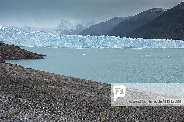 South America  Argentina  Patagonia  Santa Cruz  Puerta Bandera  Los Glaciares  National Park  Perito Moreno Glacier  UNESCO  World Heritage