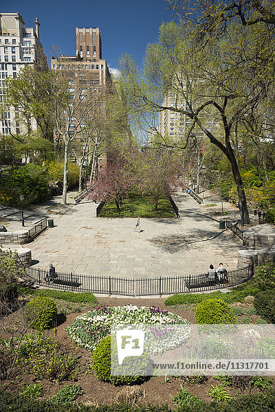 USA  New York  Manhattan  Upper Eastside  Yorktown  Carl Schurz Park