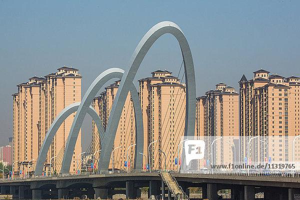 China  Shanxi Province  Daton City  Nanmiaowa District  New Bridge