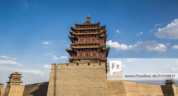 China  Shanxi Province  Datong City  Old City Wall