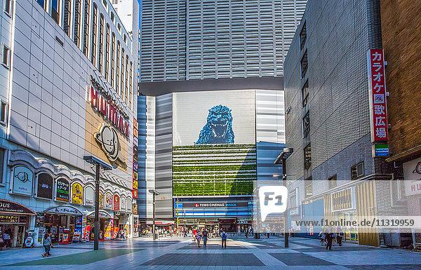 Japan  Tokyo City  Shinjuku District  Milanoza Square  Kabukicho entertainment area