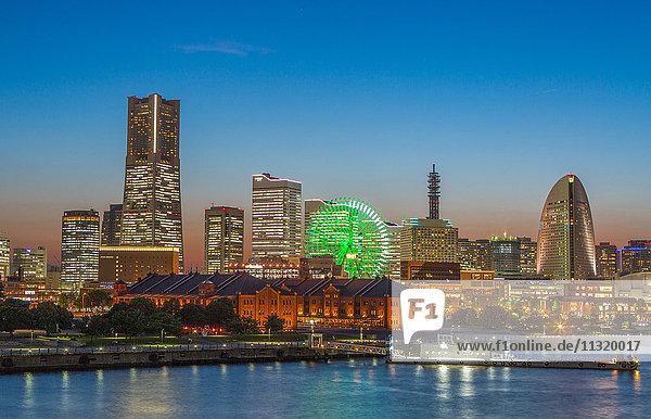 Japan  Yokohama  City Skyline  Landmark Building