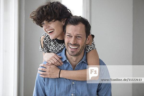 Porträt des glücklichen Paares
