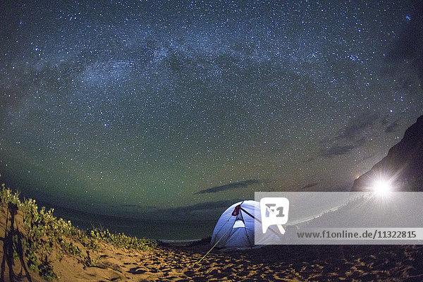 Kauai  camping  Kauai  star sky  stars  evening  Astro  USA  Hawaii  America