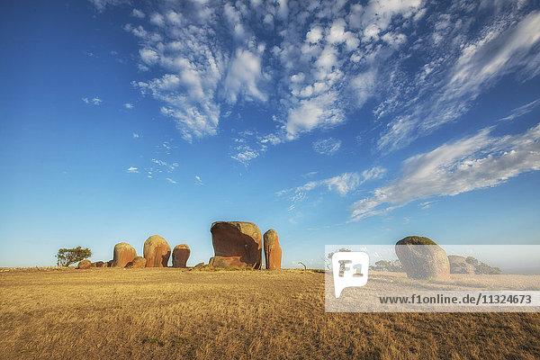 Australien  Südaustralien  Felsformation Murphy's Haystacks