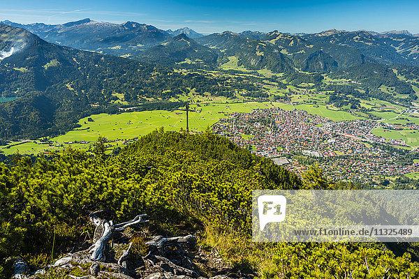 Oberstdorf in Bavaria