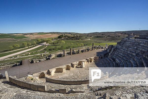 Roman ruins in Segobriga