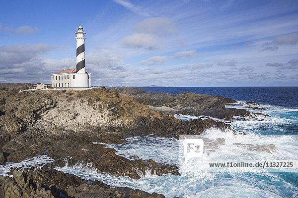 Favaritx lighthouse in Menorca