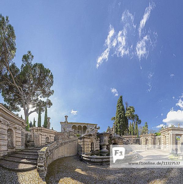 Caprarola castle in Lazio