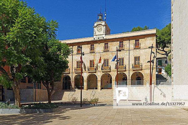 city hall in Denia  Alicante