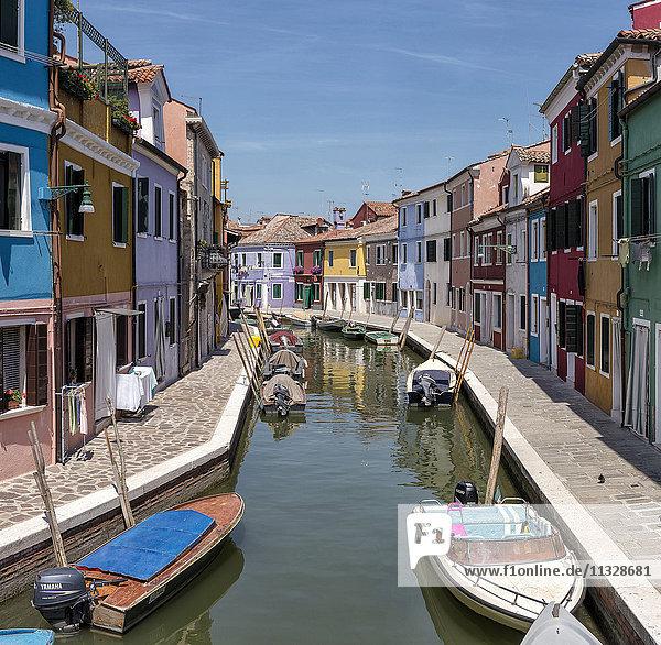 coloured houses in Burano  Veneto