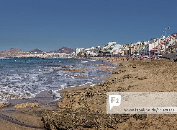 Las Palmas city in Gran Canaria  Canary Islands