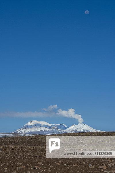 Sabancaya volcano in Peru