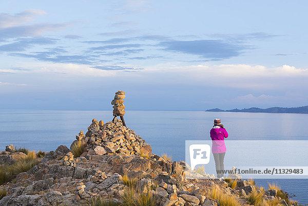 Lake Titicaca in Peru