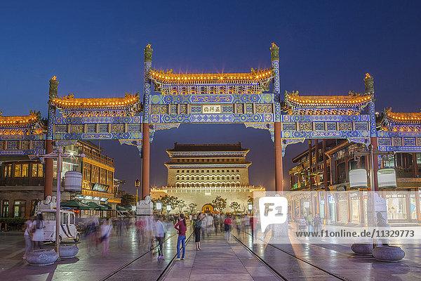 Zhengyang Gate in Qianmen in Beijing