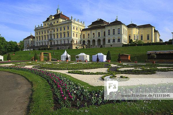 Ludwigsburg castle in Baden-Wurttemberg  Germany