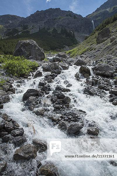 Waterfall near Lai da Rims  Grisons