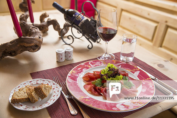 Engadine food specialities  Grisons  Switzerland
