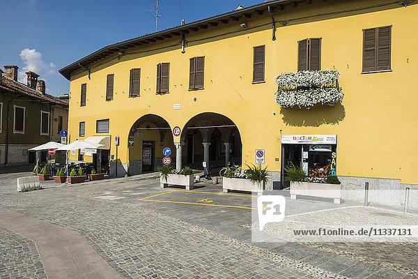 Italy  Boffalora Ticino  Landscape