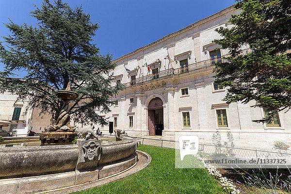 Italy  Apulia  Martina Franca  Ducal Palace