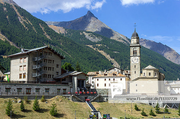 Italy  Aosta Valley  Cogne  Sant'Orso church