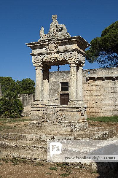 Europe  Italy  Apulia  Lecce  Santa Maria a Cerrate