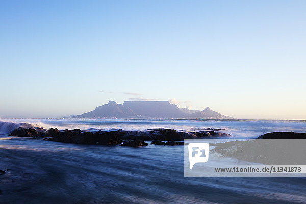 Table Mountain  Cape Town  Western Cape  South Africa  Africa