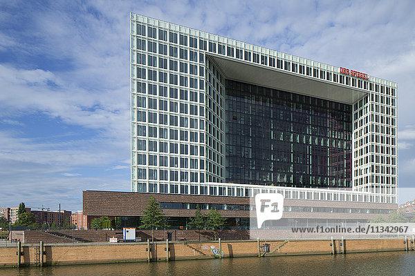 Der Spiegel building  Hamburg  Germany  Europe