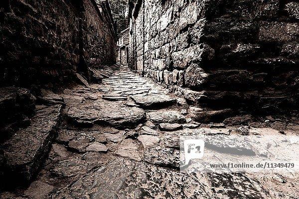 Ancient village of Taihang Mountai, Shanxi province, China