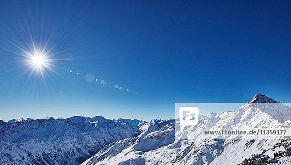 Gaislachkogel  Otztaler Gebirge  Otztal  Tirol  Österreich