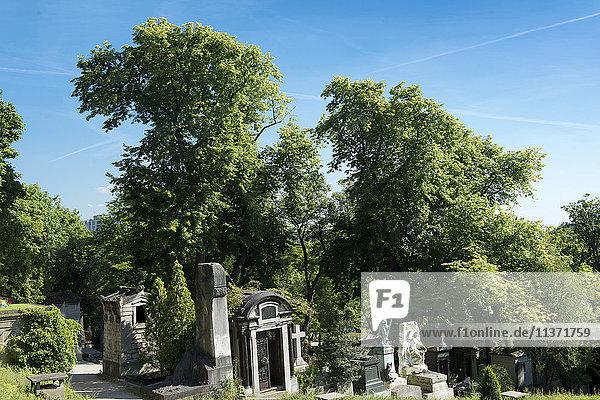 Frankreich  Paris 20. Bezirk. Friedhof von Pere Lachaise