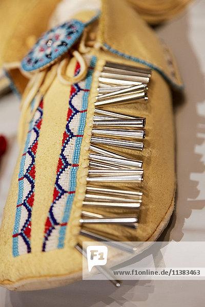 Traditional handmade moccasin