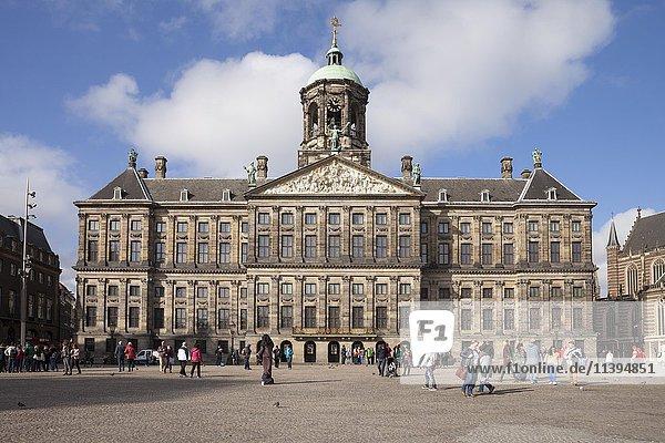 Königlicher Palast  Paleis op de Dam  Amsterdam  Holland  Niederlande  Europa