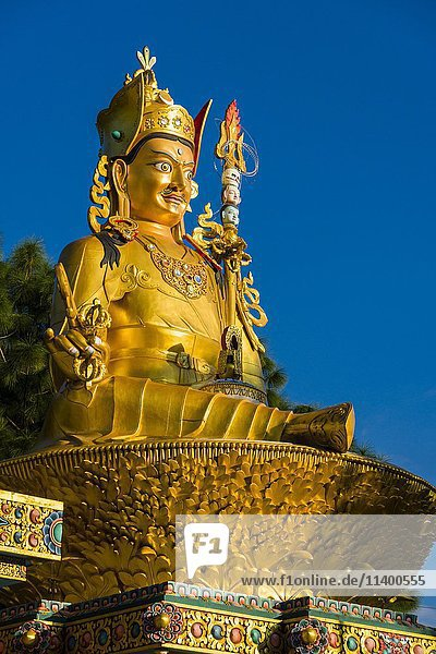 Kathmandu Hauptstadt groß großes großer große großen Asien Nepal Swayambhunath